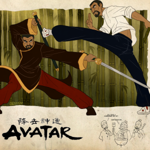 Piandao vs Sifu Kisu by Booter-Freak